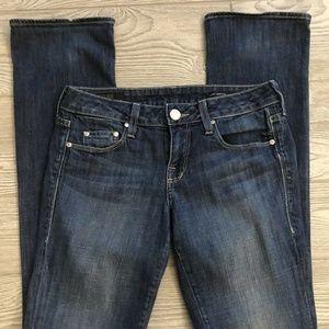 William Rast Baby Boot Dark Wash Jeans Size 26